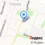 Руднев на карте Донского