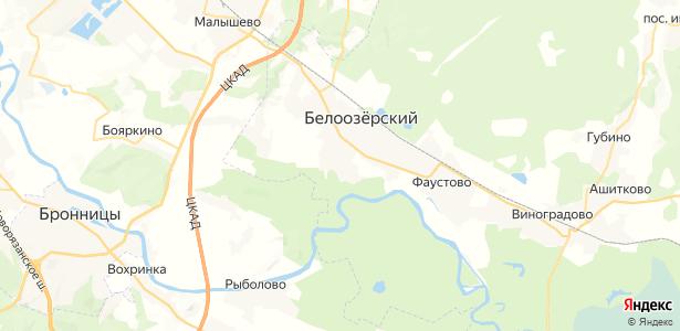 Михалёво на карте