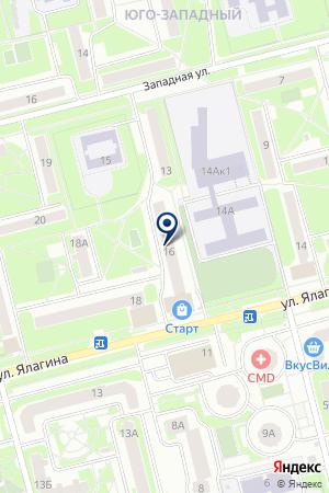 ПРОДОВОЛЬСТВЕННЫЙ МАГАЗИН ГУЛЯЕВ К.Г. на карте Электростали