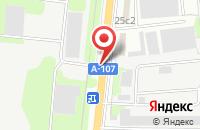 Схема проезда до компании Диджитал Телекоммуникейшн Системс в Ногинске