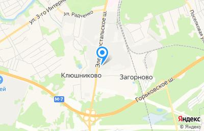 Местоположение на карте пункта техосмотра по адресу Московская обл, г Ногинск, ш Электростальское, д 31