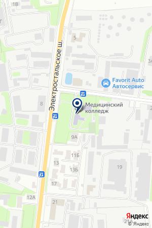 ТОРГОВАЯ БАЗА АКВАМАРКЕТ на карте Ногинска