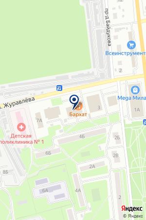 ФИЛИАЛ ЦЕНТР КУЛЬТУРЫ И ДОСУГА на карте Электростали