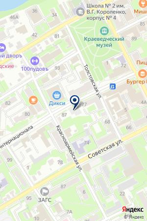 АГЕНТСТВО НЕДВИЖИМОСТИ АВЕРЧЕВ А.П. на карте Ногинска