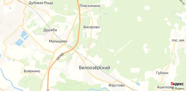 Надеждино на карте