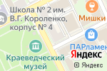 Схема проезда до компании Евротехпласт №1 в Ногинске