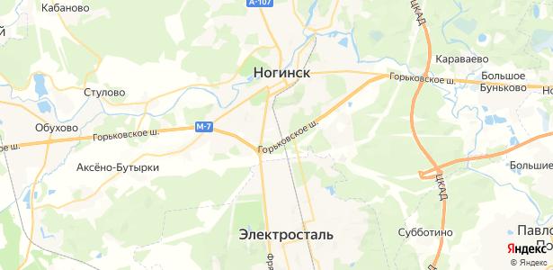 Загорново на карте