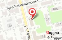 Схема проезда до компании МОНБЛАН в Электростали