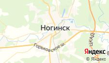 Гостиницы города Ногинск на карте