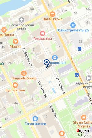АВТОМОБИЛЬНЫЕ ОБЪЯВЛЕНИЯ НОГИНСКА на карте Ногинска
