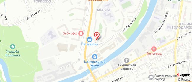 Карта расположения пункта доставки Халва в городе Ногинск