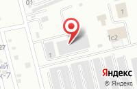 Схема проезда до компании Технолитэл в Электростали