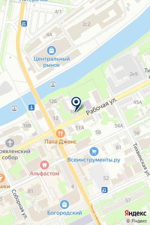 АГЕНТСТВО НЕДВИЖИМОСТИ МЕТРОЛОГ на карте Ногинска