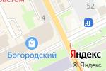 Схема проезда до компании ГорЗдрав в Ногинске