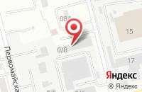 Схема проезда до компании Ремстроймонтаж-Электросталь в Электростали