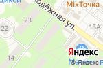 Схема проезда до компании Мясная точка в Белоозёрском