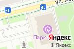 Схема проезда до компании МегаФон в Электростали
