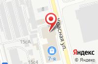 Схема проезда до компании Окнари в Электростали