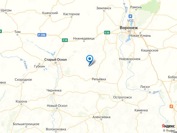 хутор Семенов на карте