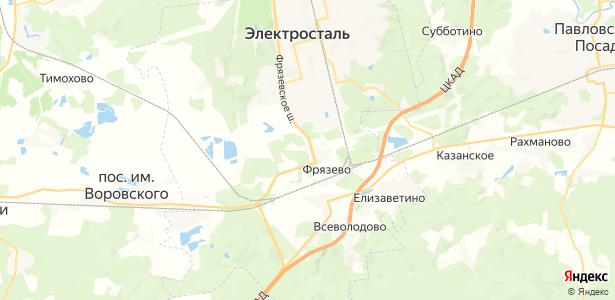 Иванисово на карте
