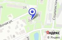 Схема проезда до компании НОВОНОГИНСКАЯ ФАБРИКА в Ногинске
