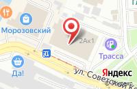 Схема проезда до компании Богородскагропромснаб в Ногинске