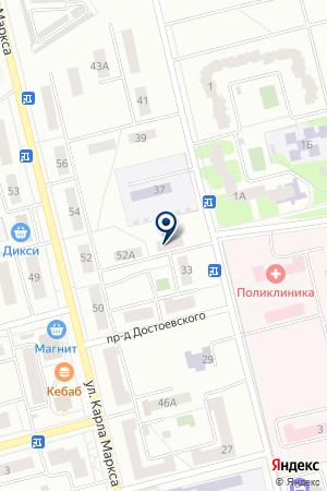 ПРОДОВОЛЬСТВЕННЫЙ МАГАЗИН ОВАЦИЯ на карте Электростали