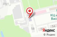 Схема проезда до компании Мосэнергосбыт-Электросталь в Электростали