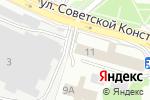 Схема проезда до компании ФЛЕКС в Ногинске