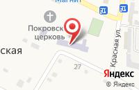 Схема проезда до компании Администрация Федоровского сельского поселения в Фёдоровской