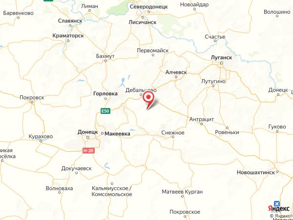 поселок Данилово на карте