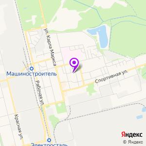 МРТ центр Сияние на карте