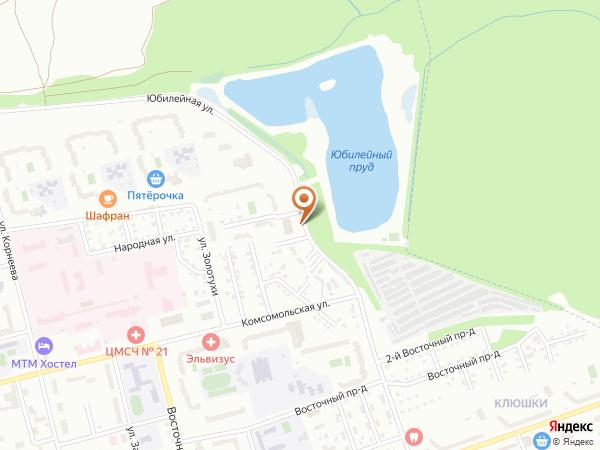 Остановка Юбилейный водоём (Московская область)