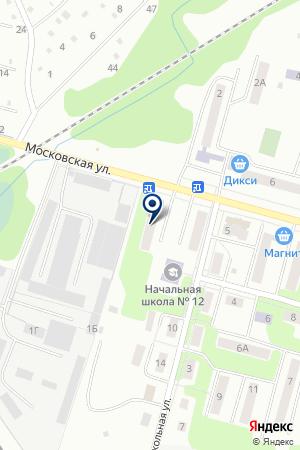 АВТОСЕРВИСНОЕ ПРЕДПРИЯТИЕ КУРОРТПРОЕКТ на карте Ногинска