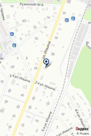 АВГУР на карте Ногинска