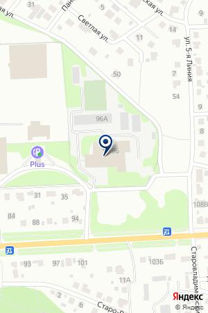 АВТОСЕРВИСНОЕ ПРЕДПРИЯТИЕ М-СЕРВИС АВТО на карте Ногинска