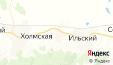 Отели города Черноморский на карте