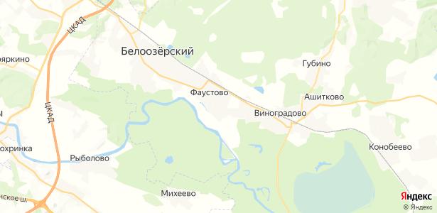 Золотово на карте