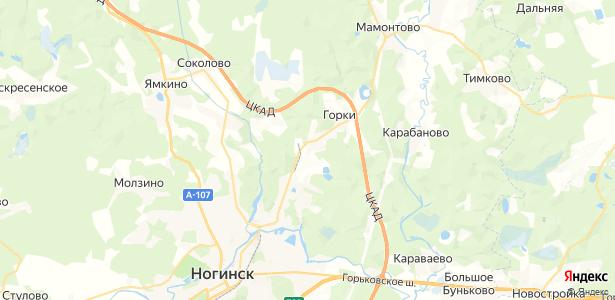 Жилино на карте