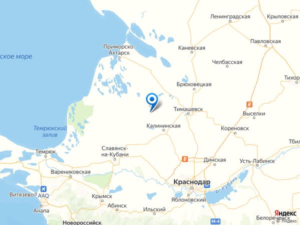 хутор Степной на карте