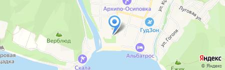 Почтовое отделение №2 на карте Геленджика