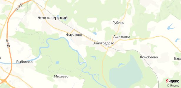 Алёшино на карте
