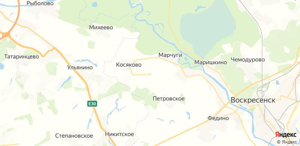 Глиньково на карте
