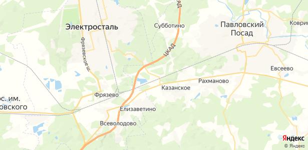 Криулино на карте