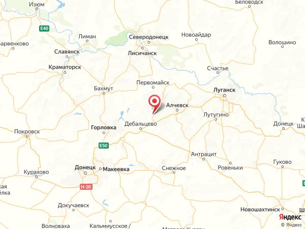поселок городского типа Южная Ломоватка на карте