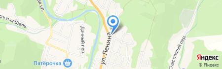 Баден-баден на карте Геленджика