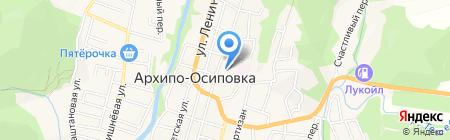 Детский сад №23 на карте Геленджика