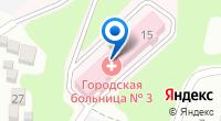 Компания Городская больница №3 на карте