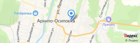 Городская больница №3 на карте Геленджика