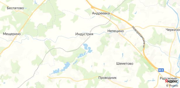 Городище-Юшково на карте